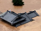 بالفيديو | الأمطار الغزيرة في اليابان تتسبب بفيضانات جارفة وفقدان 13 شخصًا على الأقل