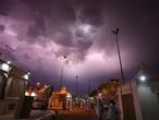 """نقل لأمطار الحرم المكي الشريف في مكة المكرمة من قناة القرآن الكريم """"عصر الخميس"""""""
