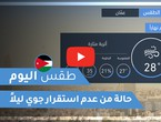 Arab Weather - Jordan | Today's weather | Saturday 24-10-2020