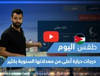 Arab Weather - Today's weather video - (Jordan - Saturday 4-17-2021)