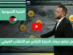 طقس العرب - فيديو النشرة الجوية  الأسبوعية  - (الأردن) ( الأحد - 20-6-2021)