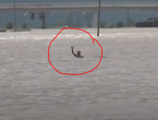 Greece | Watch the rescue of a man whose car was completely flooded during the impact of the storm `Casilda`