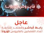 رابط مُباشر ومُعتمد لمُتابعة أعداد المُصابين بالفايروس كورونا في السعودية لحظة بلحظة