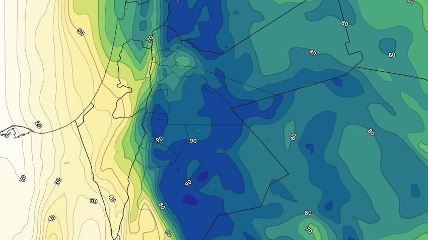 Jordanie | Risques d'orages restant dans le sud et l'est du Royaume dans les prochaines heures