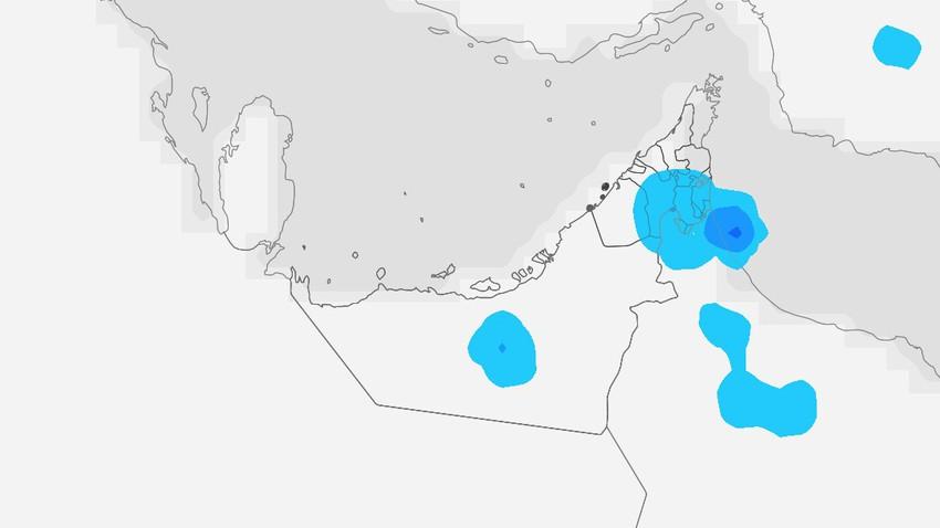 الإمارات | استمرار الاحوال الجوية غير المُستقرة الخميس