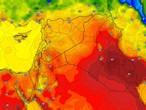 Irak | Une augmentation supplémentaire des températures lundi et la possibilité d'orages de pluie dans des zones aléatoires