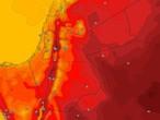 Jordanie | Les températures sont au-dessus de leurs niveaux normaux mardi et les vents du nord-ouest sont actifs dans l'après-midi