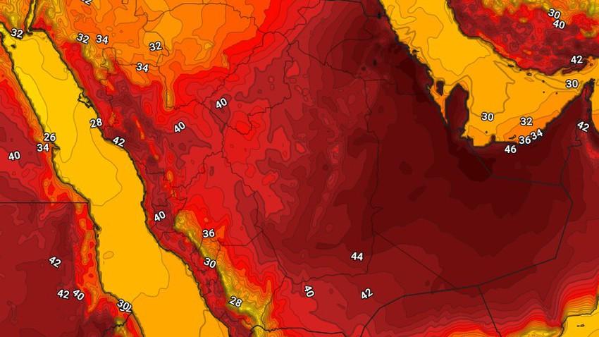 اليمن | حالة الطقس المُتوقعة يوم الثلاثاء 25/5/2021