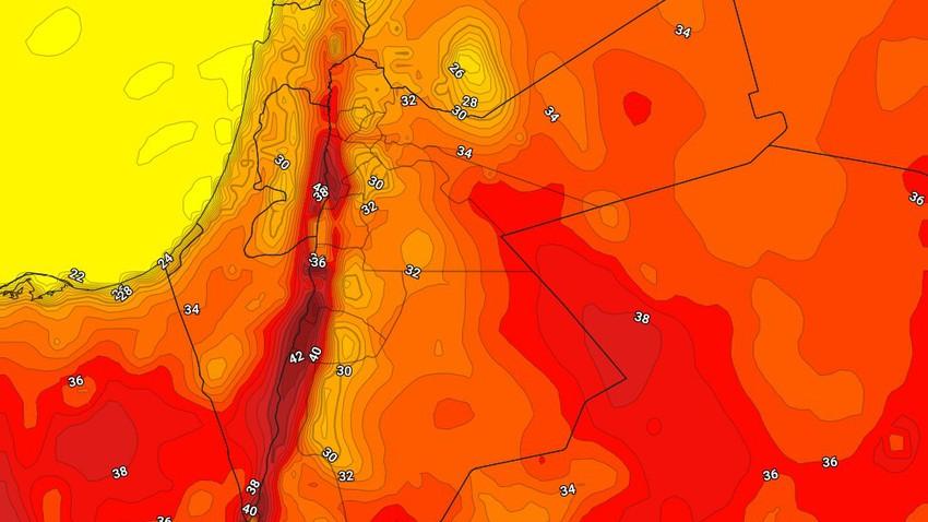 فلسطين | طقس دافئ إلى حار نسبياً بوجهٍ عام يوم الأربعاء