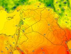 Iraq | An increase in the effect of the autumn air mass on the country Monday