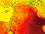 Iraq | Temperatures remain above their averages on Tuesday, with stable and hot weather