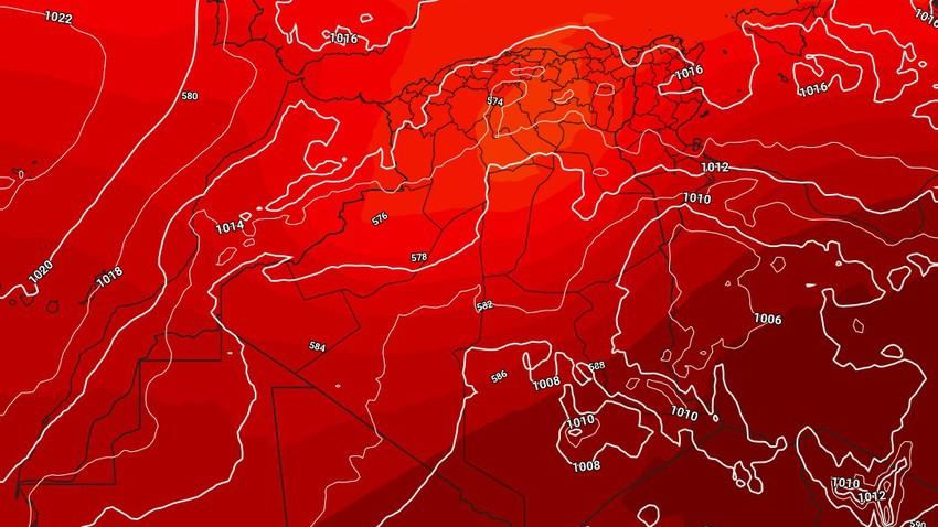 الجزائر   انخفاض طفيف على درجات الحرارة واستمرار التنبيهات من السيول الجارفة شمال البلاد