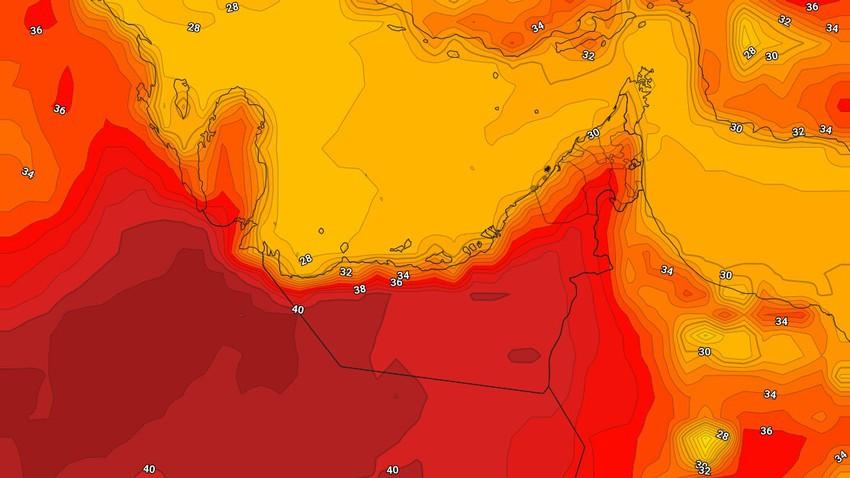 الإمارات   طقس حار الإثنين وفرصة لزخات رعدية من الأمطار في بعض المناطق