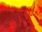 Egypt | A slight drop in temperatures on Wednesday, as the weather continues to be very hot