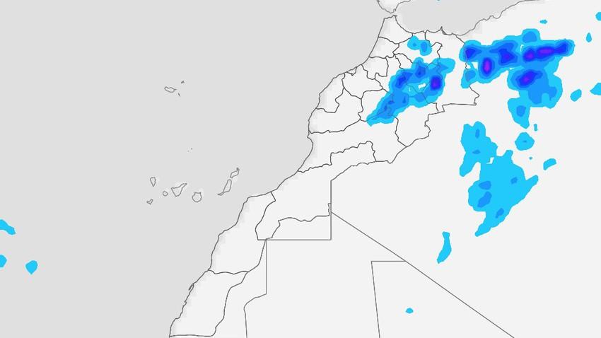 المغرب   استمرار تأثير  الاضطرابات الجوية على المملكة يوم الأربعاء
