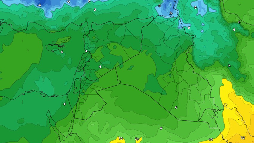 Jordan - Weekend | Gradual stability in the Friday weather, with renewed opportunities for rain in the north of the Kingdom on Saturday