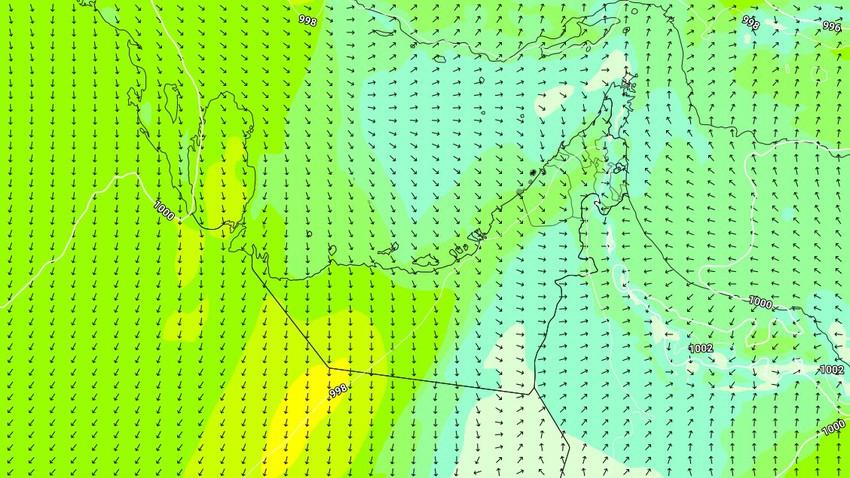 الإمارات | انخفاض قليل على درجات الحرارة الثلاثاء مع هبوب رياح البوارح لأول مرة هذا الموسم