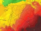 الأردن   إزدياد تأثر المملكة بالمُنخفض الجوي المُصنف من الدرجة الأولى (الأضعف) مساء الخميس ونهار الجمعة