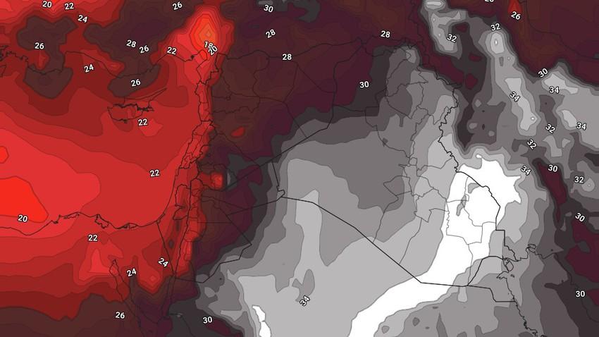 الكويت | طقس شديد الحرارة مُرهق طيلة أيام عيد الأضحى المُبارك