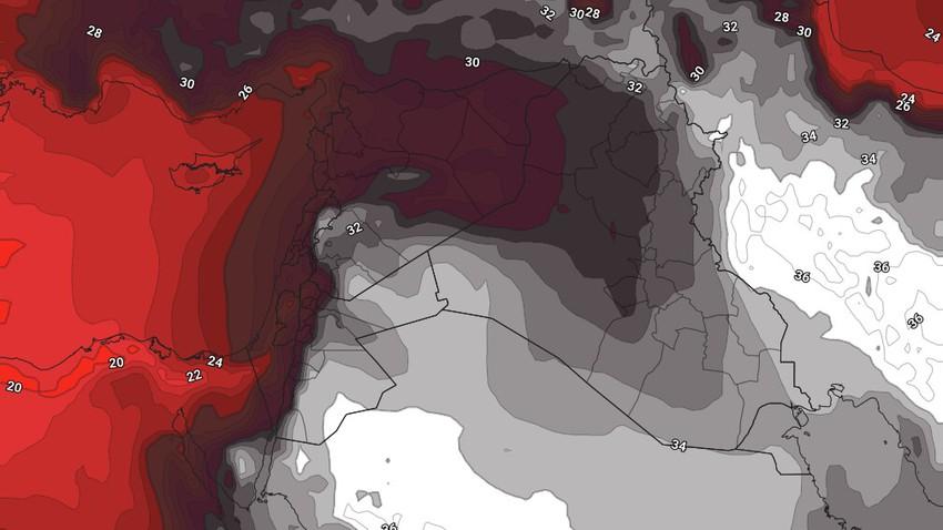 النشرة الأسبوعية للكويت | طقس شديد الحرارة ودرجات حرارة حول ال50 درجة مع نهاية الأسبوع