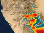 تحديث 3:30م | تزايد فرص الأمطار الرعدية على مكة والطائف خلال الساعات القادمة