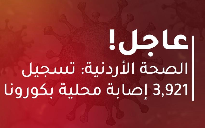 الصحة الأردنية: 32 حالة وفاة و 3,921 إصابة جديدة بكورونا