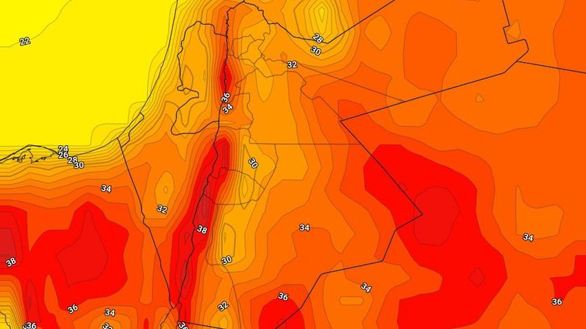 الأربعاء | انخفاض طفيف على درجات الحرارة ورياح نشطة تُثير الغبار في بعض المناطق