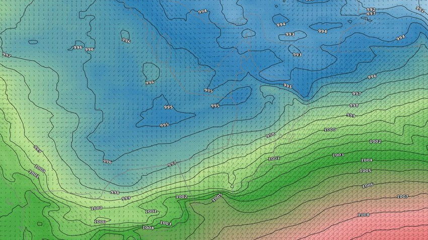 Sultanate of Oman | Dry southwesterly winds will blow over the Sultanate in the coming days