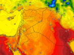 Kuwait | Hot weather in all regions at the end of the week and brisk winds causing dust in some areas