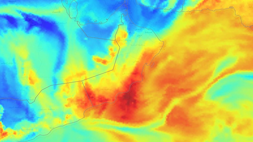 Arabia Weather: Observation of a humid tropical wave that affects the Sultanate of Oman at the end of the week