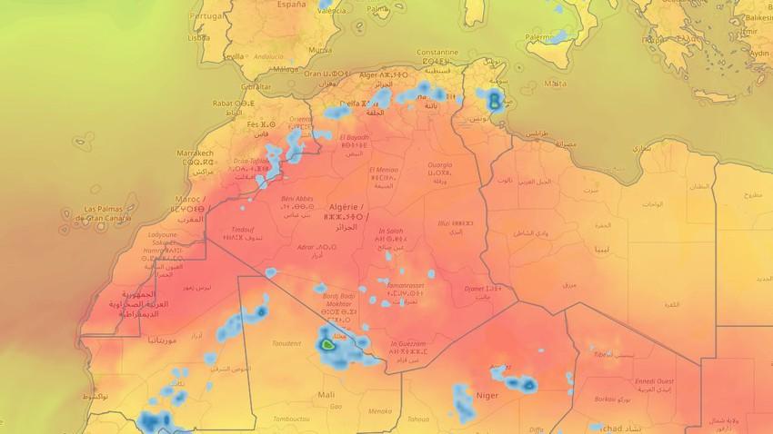 المغرب العربي | انحسار تأثير الموجة الحارّة عن معظم المناطق اعتباراً من الثلاثاء