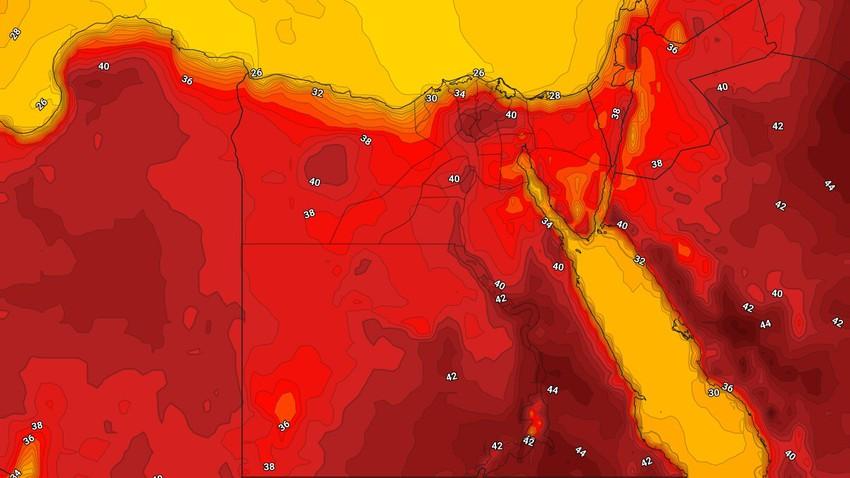 مصر | بحرارة تصل إلى 40 مئوية في القاهرة .. كتلة هوائية شديدة الحرارة تؤثر على الجمهورية الأسبوع القادم