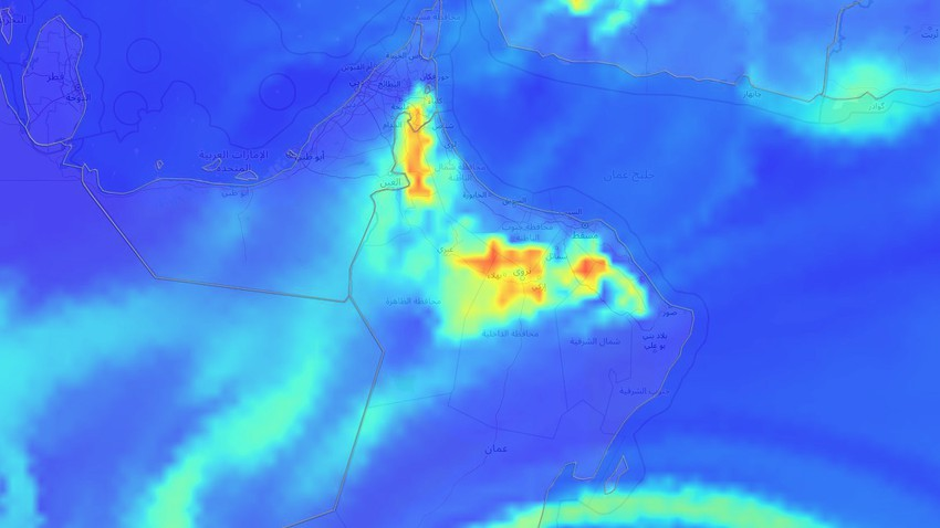 Sultanate of Oman | Unstable weather conditions and thunderstorms in many areas next week
