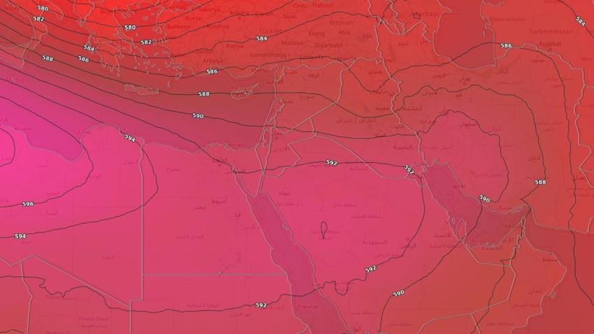 الأردن | طقس حار نسبياً إلى حار في عموم رُبوع المملكة نهاية الأسبوع