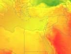 مصر | استمرار سيطرة كُتلة هوائية معتدلة الحرارة ودرجات حرارة دون معدلاتها في أغلب المناطق خلال عُطلة نهاية الأسبوع