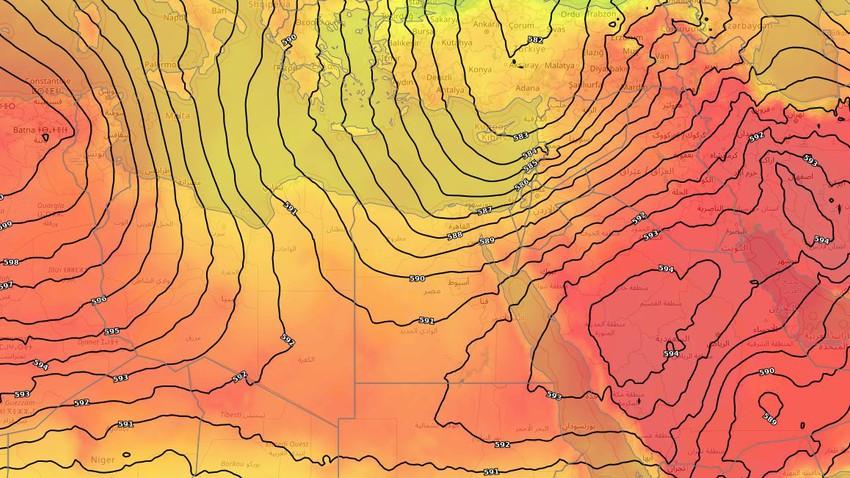 في ظل موجات الحرّ القياسية في الدول المجاورة .. هل تكون مصر بمنأى عن هذه الأجواء الأيام القادمة؟
