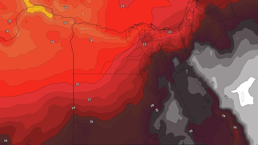 مصر | المزيد من الانخفاض على درجات الحرارة وارتفاع نسب الرطوبة في الأجواء نهاية الأسبوع