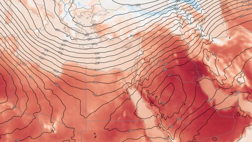 مصر | طقس صيفي مُعتدل في المناطق الشمالية وانخفاض ملموس على درجات الحرارة جنوب الصعيد يوم الإثنين