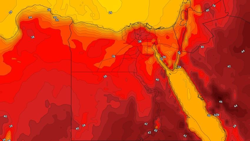 Egypte | Temps d'été chaud et ensoleillé à travers l'Egypte en fin de semaine