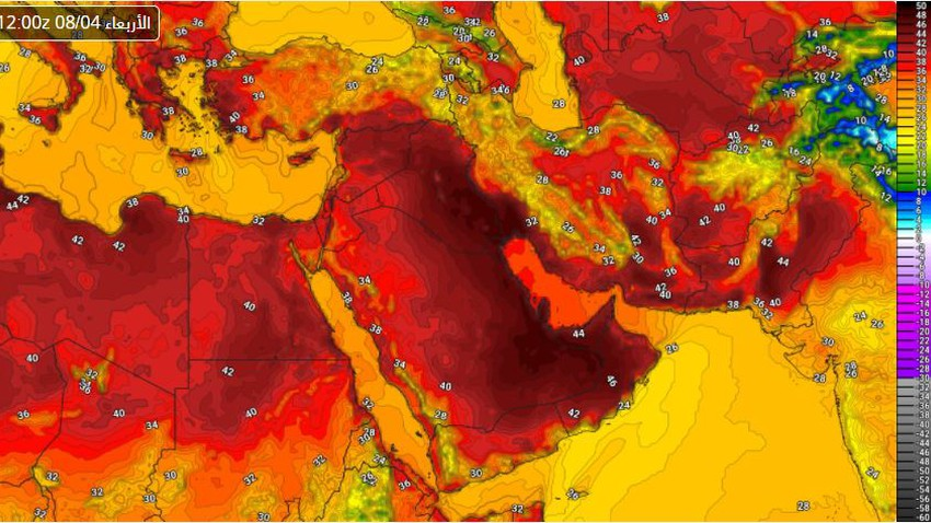 Advanced alert | The impact of the hot mass on the Republic of Egypt will intensify in the coming days