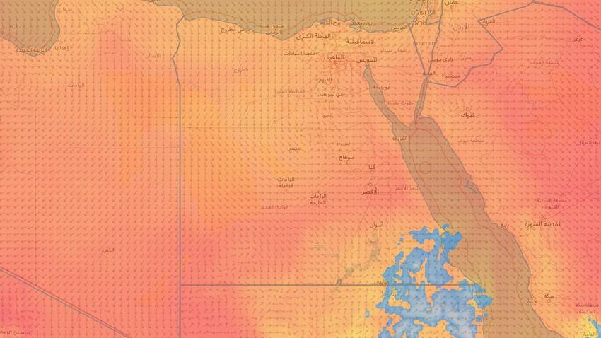 Egypte | La canicule va continuer de toucher la République, et la température frôle les 45 degrés dans certaines zones en fin de semaine