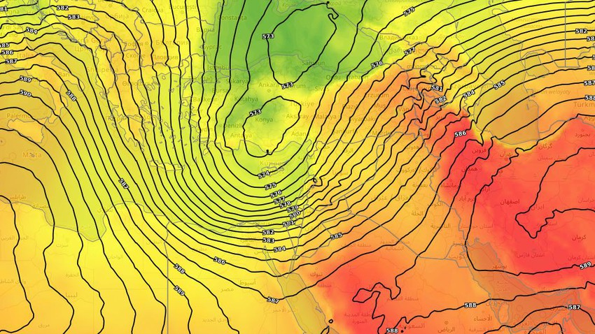 Levant | More drops in temperatures and cooler-than-usual nights over the weekend