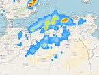 Advanced alert | Heavy thunderstorms are expected in northern Algeria, and a warning of the danger of torrential rains