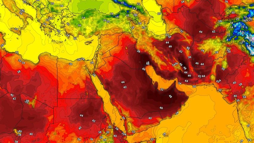 مصر   طقس صيفي اعتيادي ونشاط لافت على سرعة الرياح في أغلب المناطق نهاية الأسبوع