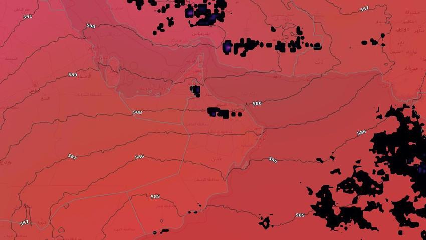 سلطنة عُمان | استمرار فرص الأمطار الرعدية على جبال الحجر نهاية الأسبوع مع تركزها في هذه المناطق