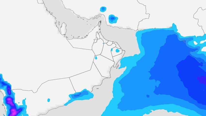 سلطنة عُمان | خريف نشط بشكل واضح على ظفار .. واستمرار فرص تشكل السحب الرعدية على جبال الحجر خلال نهاية الأسبوع