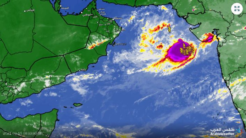 Weather of Arabia: Observation of tropical turbulence east of the Arabian Sea, and this is its effect on the Arabian Peninsula