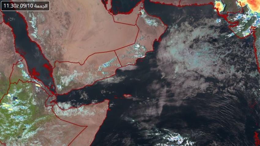 Sultanat d'Oman | Le développement de cumulus le long des monts Hajar et la poursuite des risques de pluie dans les heures à venir