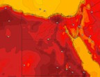 Egypt | Arab Weather warns of the increasing temperature rise in the coming days.. Details