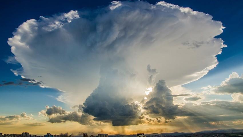 حفر الباطن | فرص أمطار تتجدد بشكل يومي حتى الأربعاء